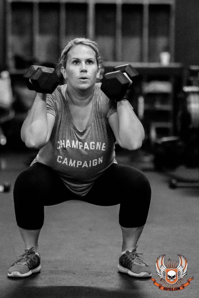 Katie Pierson at CrossFit Roseville