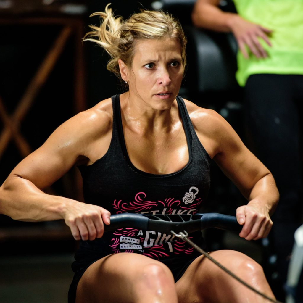 Coach Stacey Gilmore at CrossFit Roseville