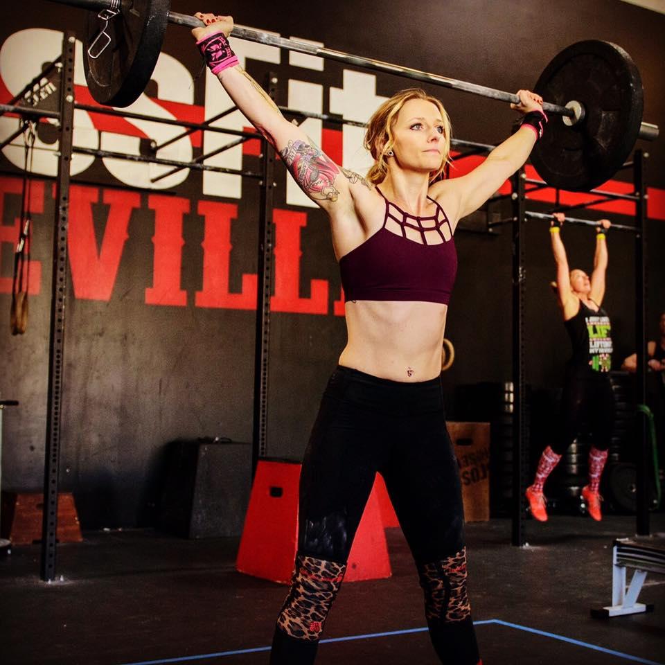 Brittney Phillips at CrossFit Roseville