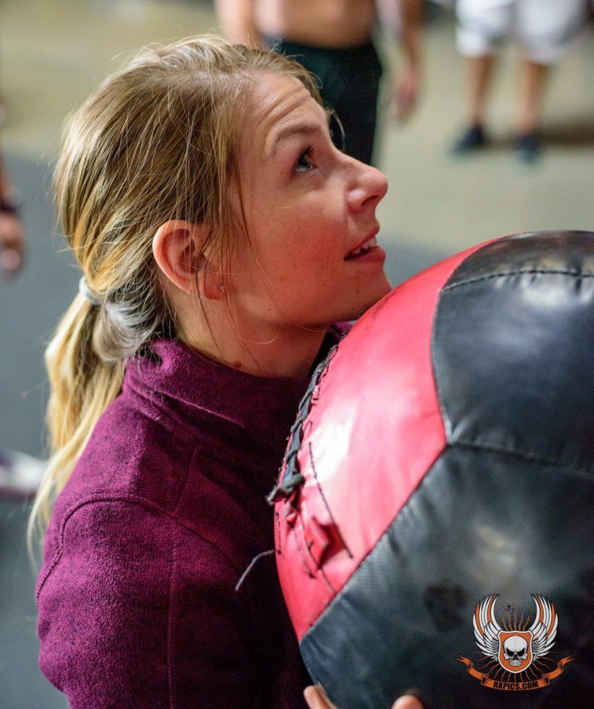 Brittiany Szafraniac at CrossFit Roseville
