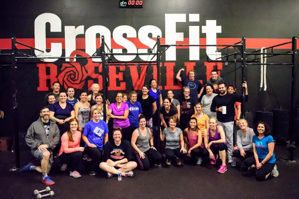 Roseville City School District Employee 6-Week Sweat Sessions Challenge Day 1