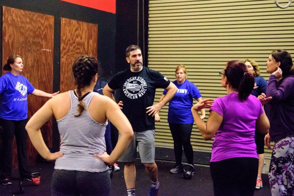 Joey Washburn Coaching RCSDE at CrossFit Roseville