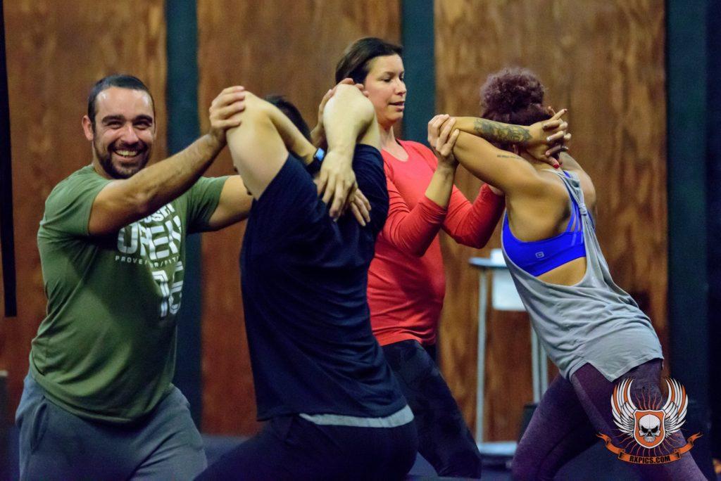 Stretch Session at CrossFit Roseville