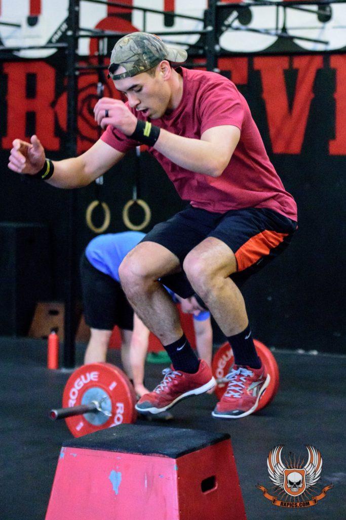 Scott Juhl Box Jumps at CrossFit Roseville