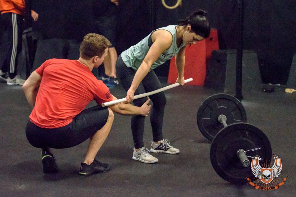 Josh Kyser & Hannah Schaefer at CrossFit Roseville