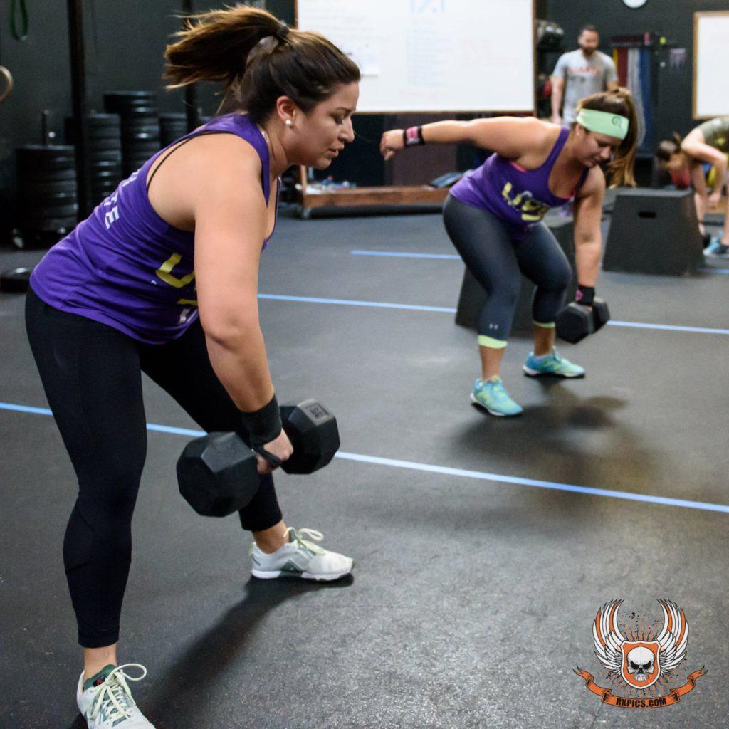 Nadia & Natalie Gardner at CrossFit Roseville