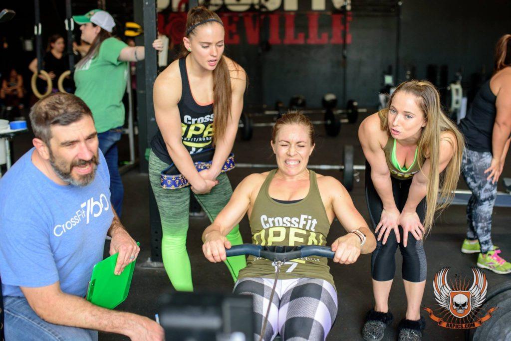 Andrea Torres at CrossFit Roseville