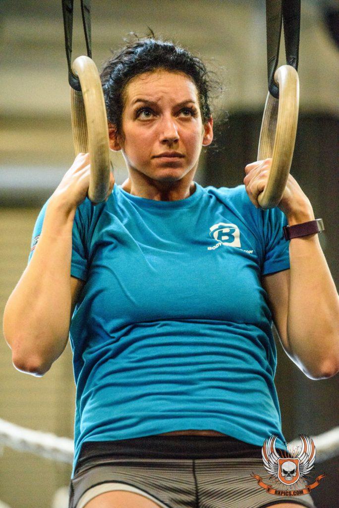 Kristin Summers at CrossFit Roseville