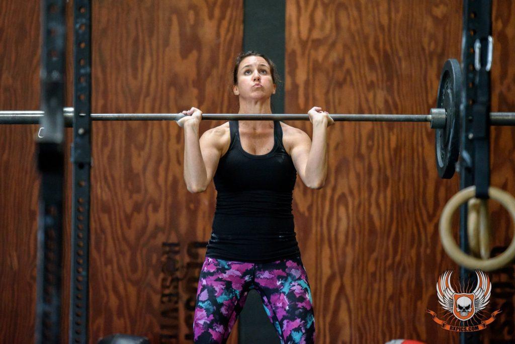 Nicole Berger at CrossFit Roseville