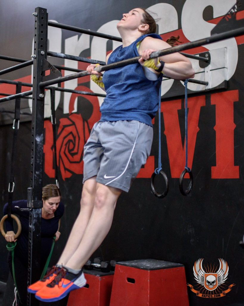 Eileen Marsh at CrossFit Roseville