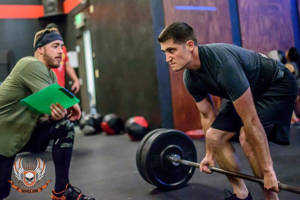 Matt Woods at CrossFit Roseville