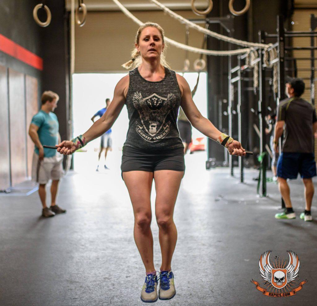 Sandy Kusick at CrossFit Roseville