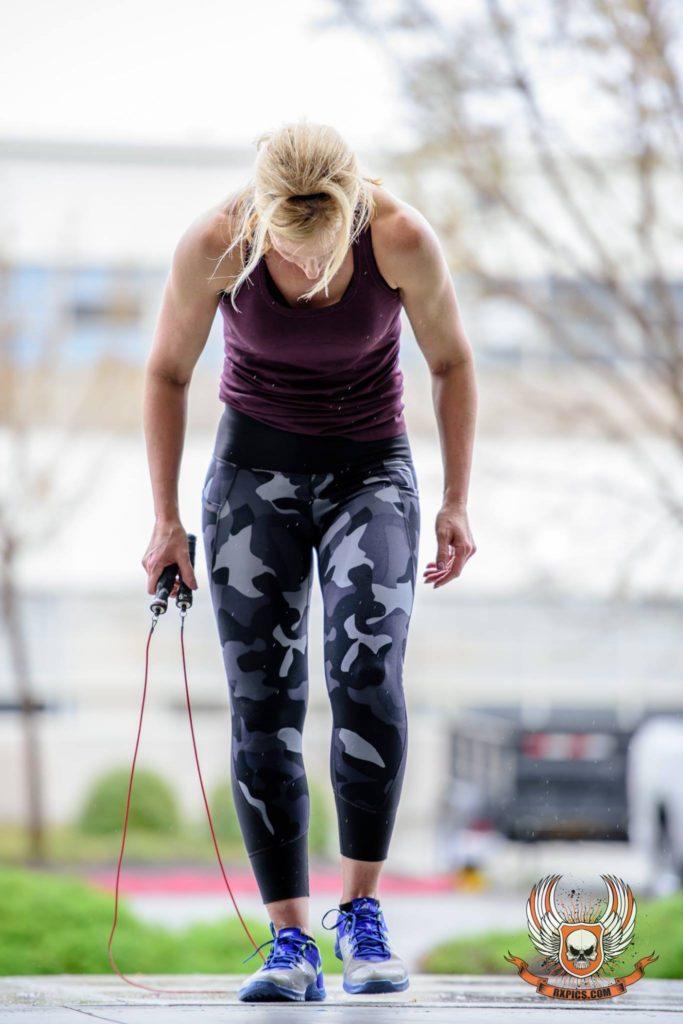 Janet Freeman at CrossFit Roseville