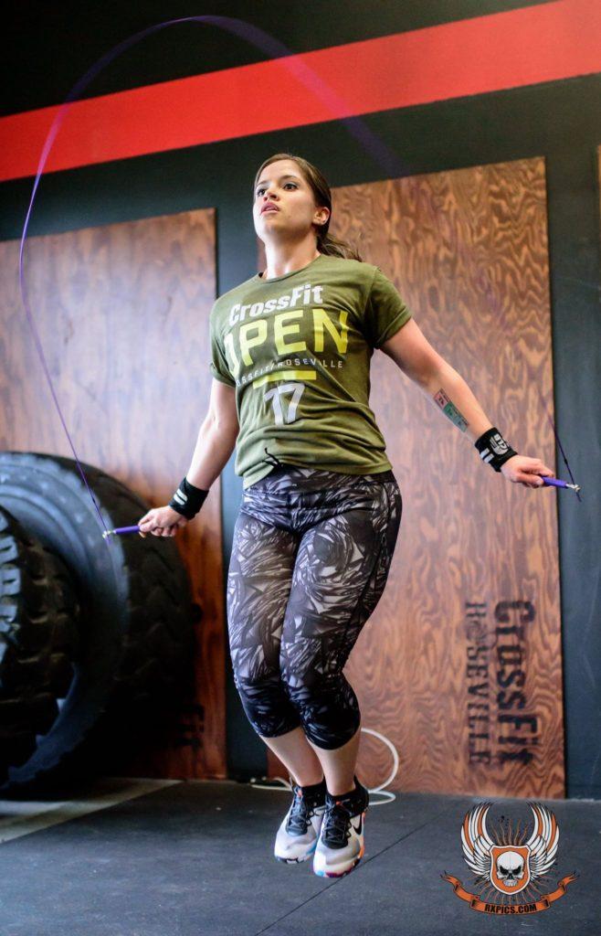 Shayna Richards at CrossFit Roseville