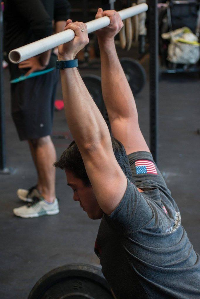 Leslie Delacruz at CrossFit Roseville