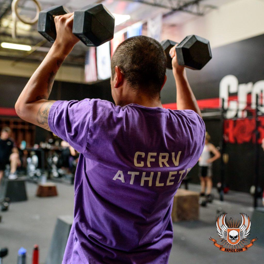 Manny Brionez at CrossFit Roseville