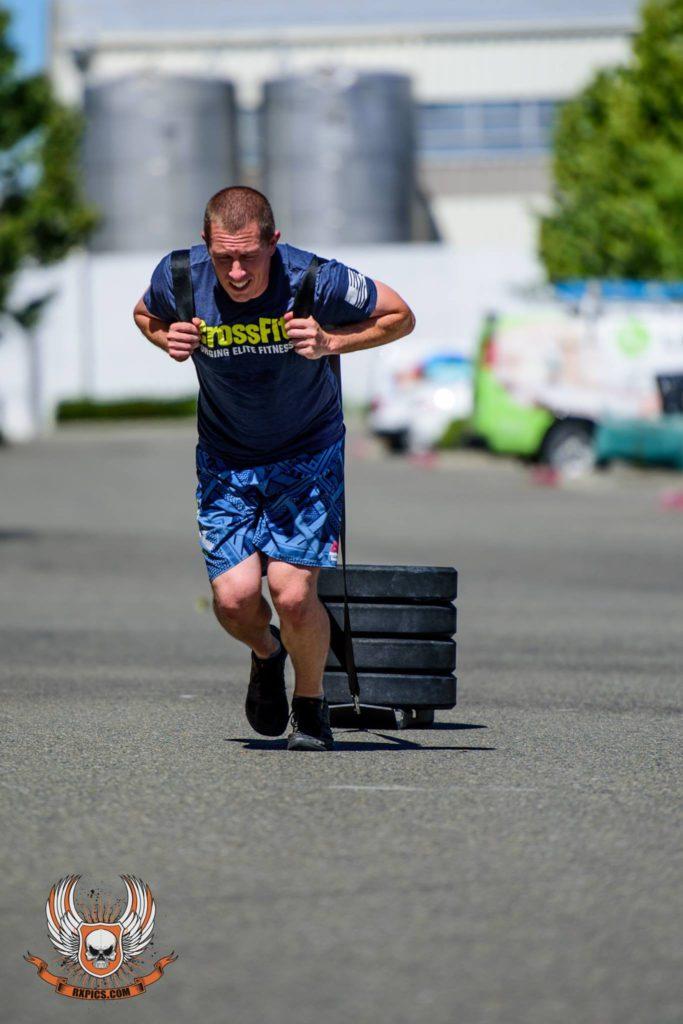 Justin Lawrence at CrossFit Roseville