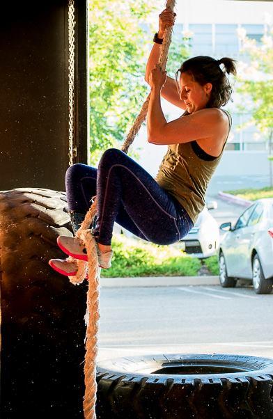 Rheina K. Dashty at CrossFit Roseville