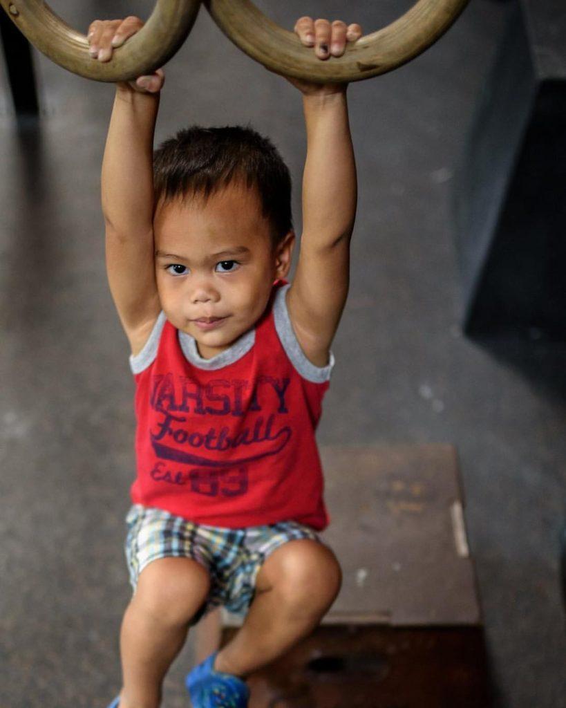 Kids hanging out at CrossFit Roseville
