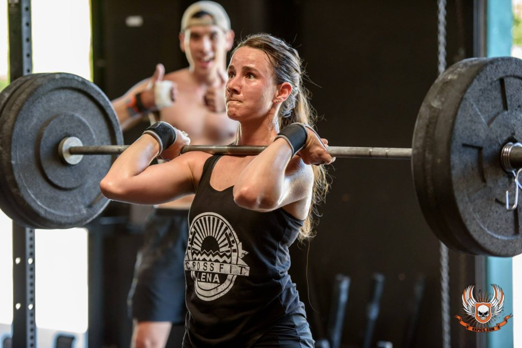 Scott & Amanda Juhl at CrossFit Roseville