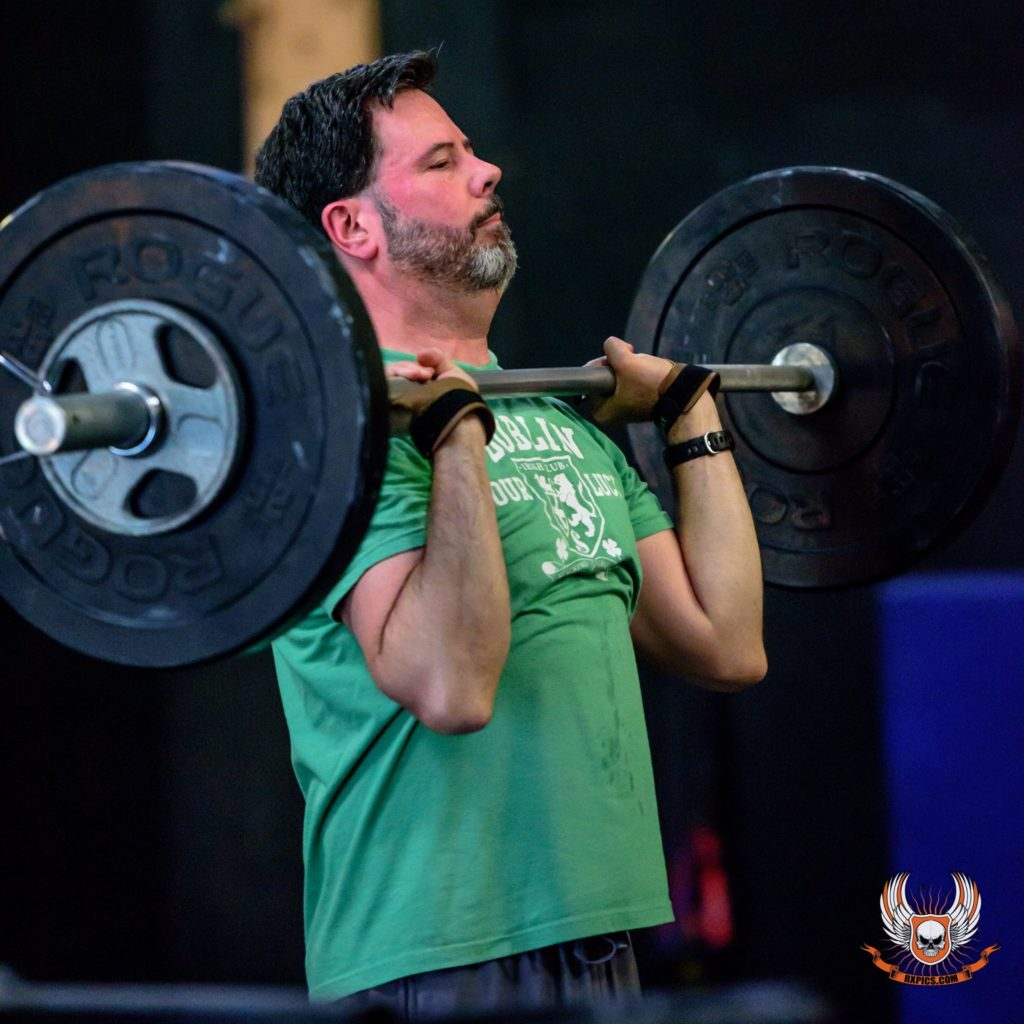 Kevin Geoghehan at CrossFit Roseville