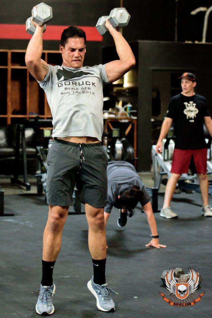 Braden Ahsue at CrossFit Roseville