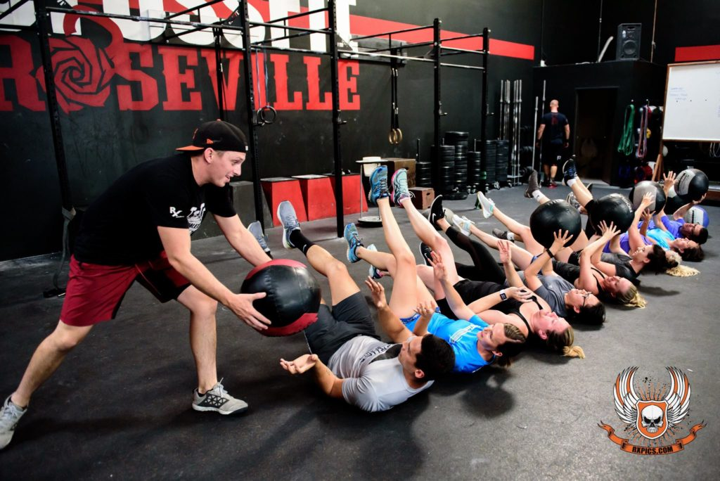 Coach Gary at Crossfit Roseville