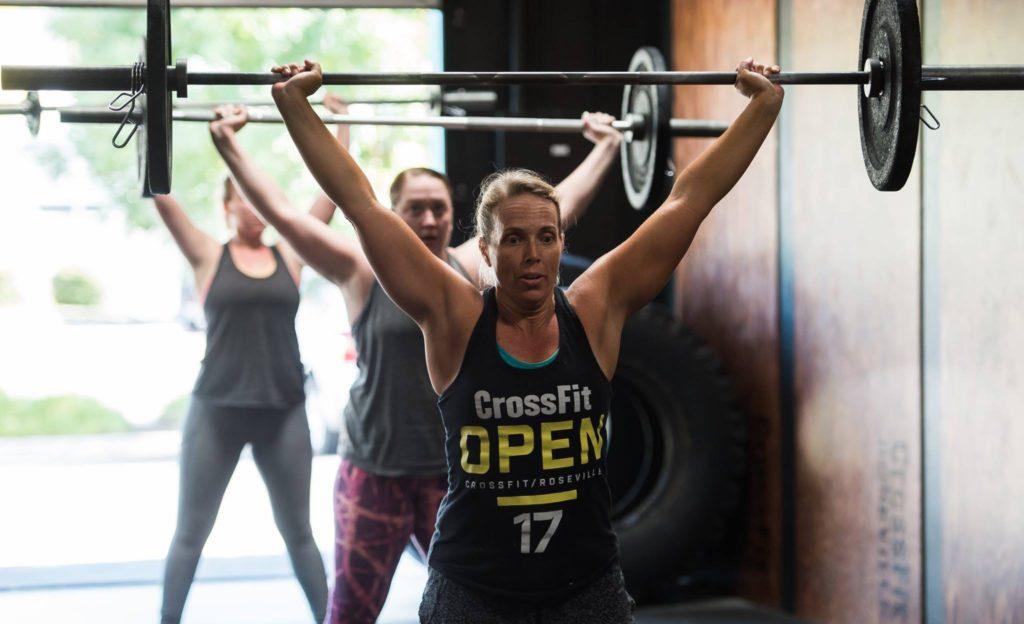 Trish Godtfredsen at CrossFit Roseville