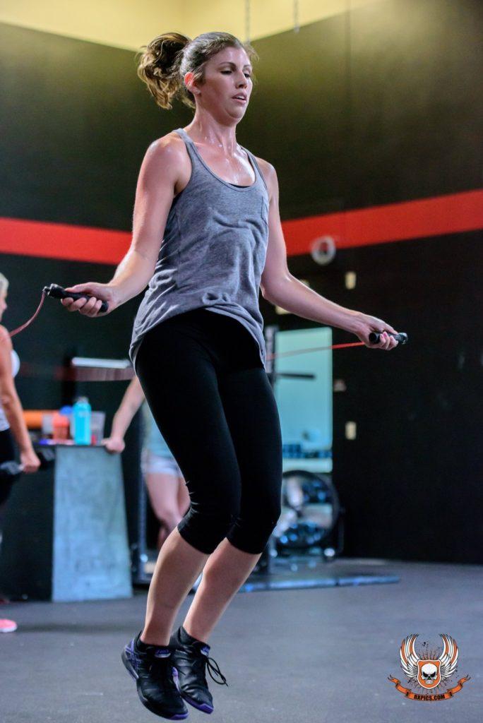 Melissa Nelson at CrossFit Roseville
