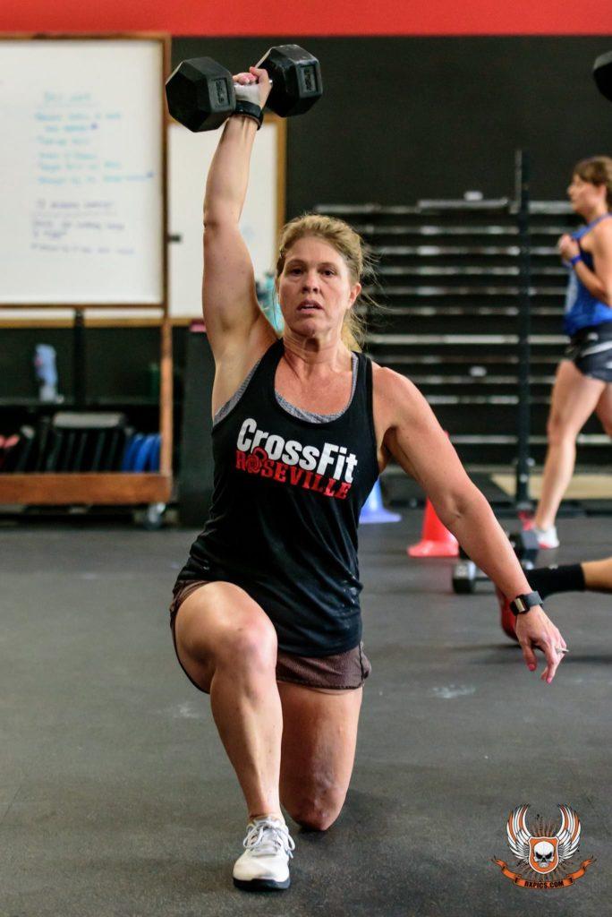 Julie Coonce at CrossFit Roseville