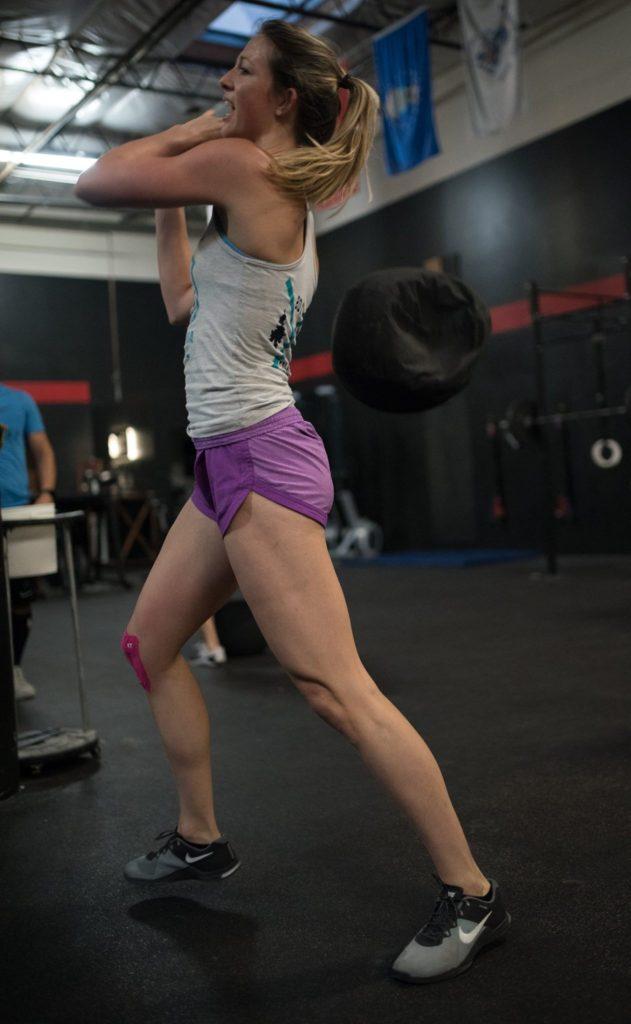 Katie Simon at CrossFit Roseville
