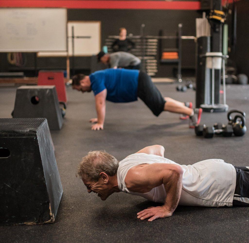 Steve Hovarth at CrossFit Roseville