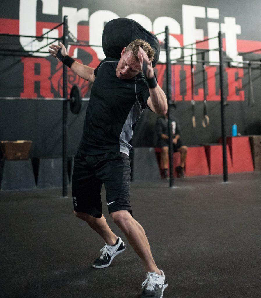 Anthony James at CrossFit Roseville