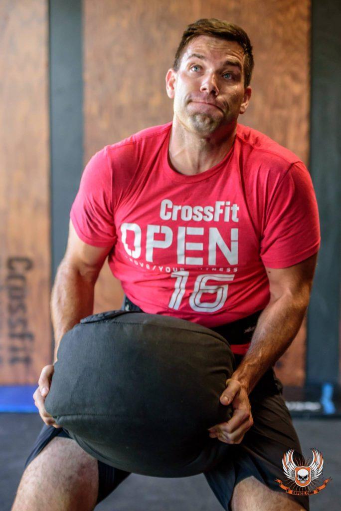 Chris Albano at CrossFit Roseville