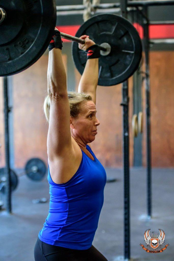Trish Godtfredson at CrossFit Roseville