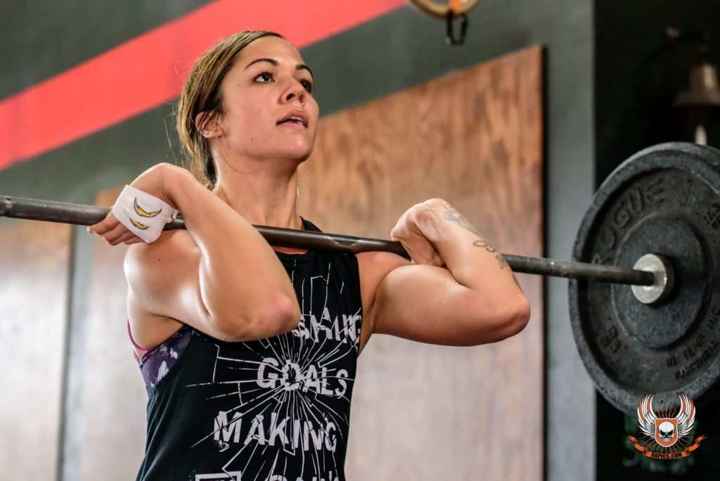 Jessica Gomez Smith at CrossFit Roseville
