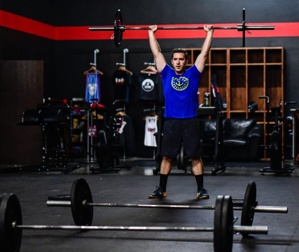 Brian Smith at CrossFit Roseville