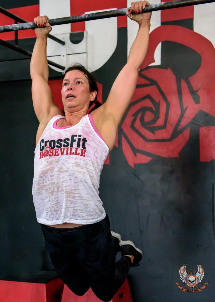April Mallery at CrossFit Roseville