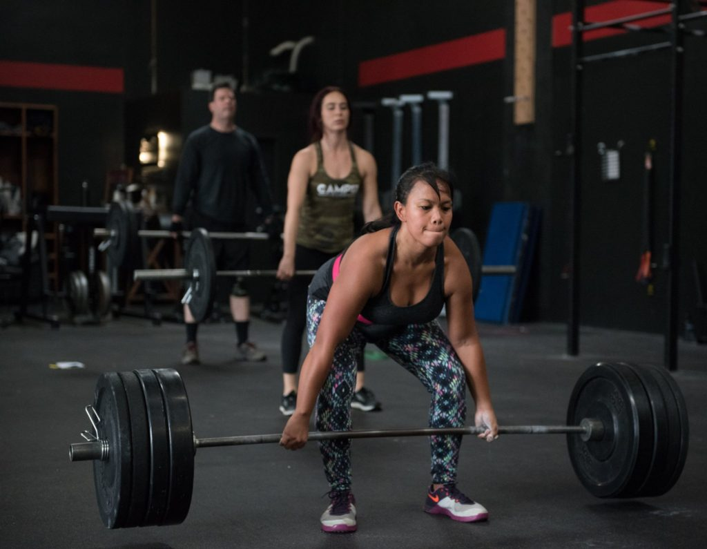 Jhoana Delacruz at CrossFit Roseville