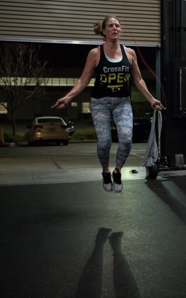 Donna Huusfeldt at CrossFit Roseville
