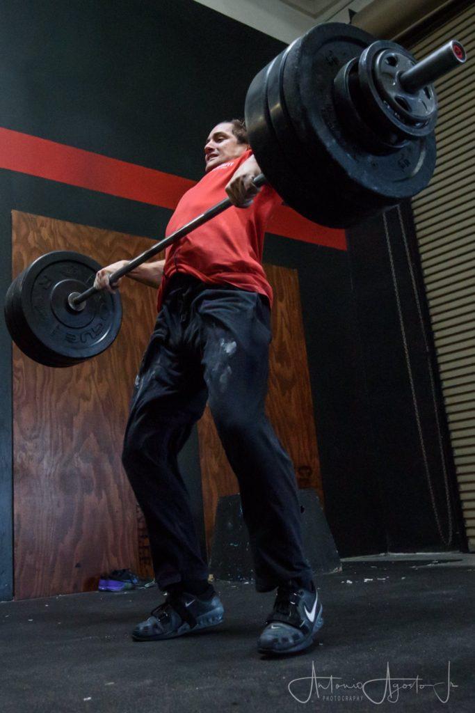 Brice Trudo at CrossFit Roseville