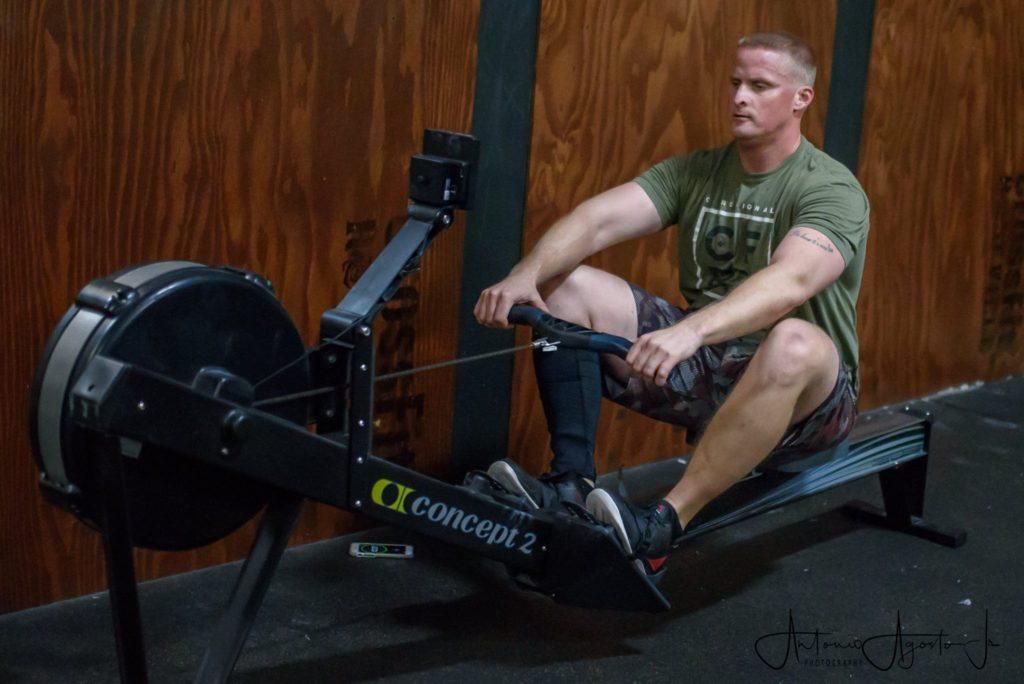 Eric Bandazewski at CrossFit Roseville