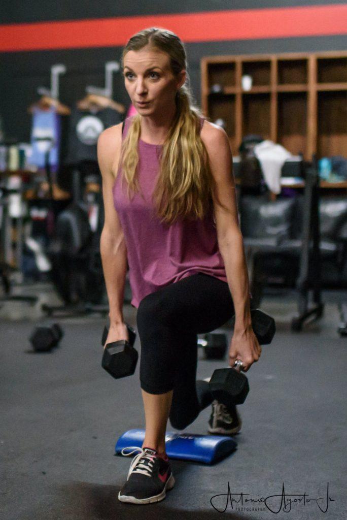 Rachalle Grider at CrossFit Roseville
