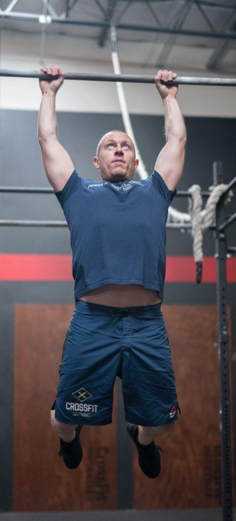 Justin Lakin at CrossFit Roseville
