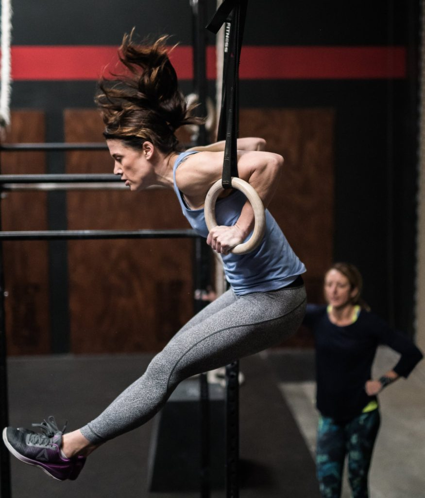 Ashley Albano at CrossFit Roseville