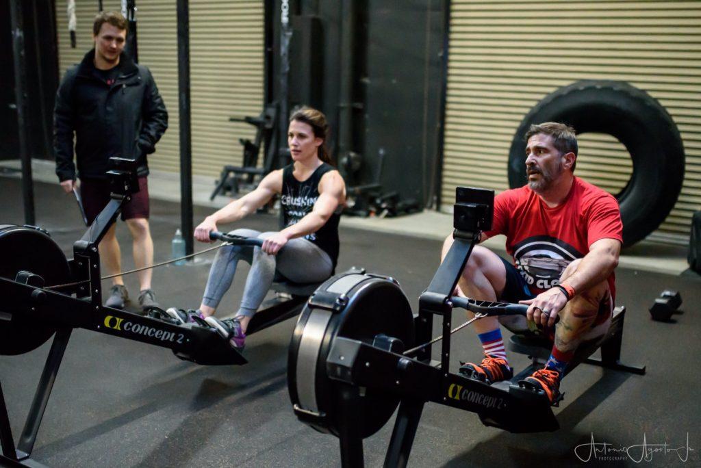 Ashley & Joey 18.1 CrossFit Roseville
