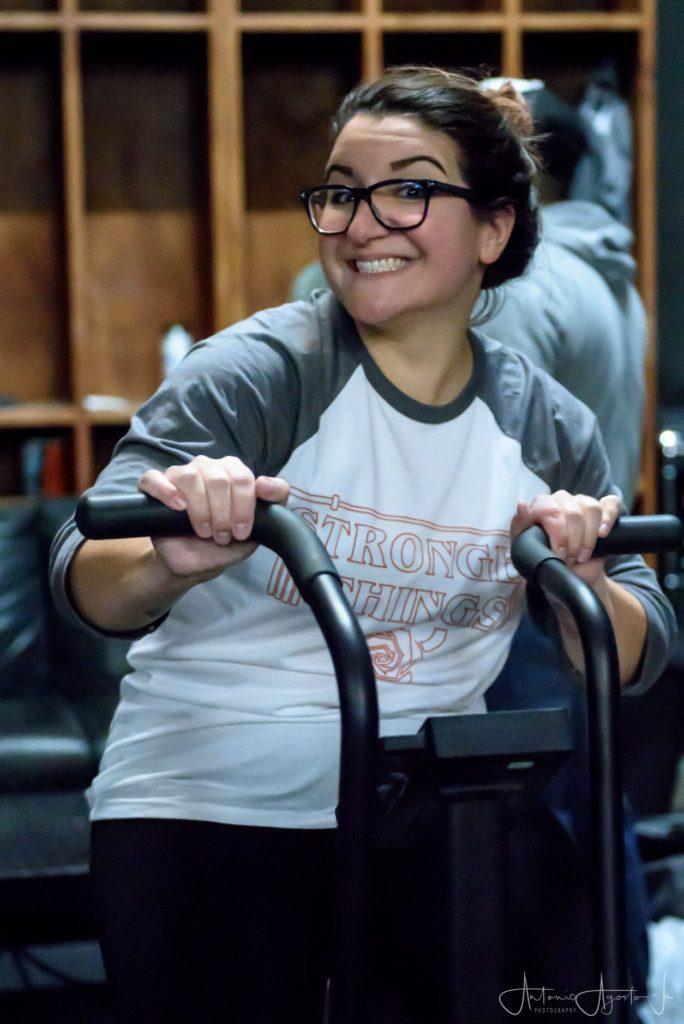 Erica Santiago at CrossFit Roseville