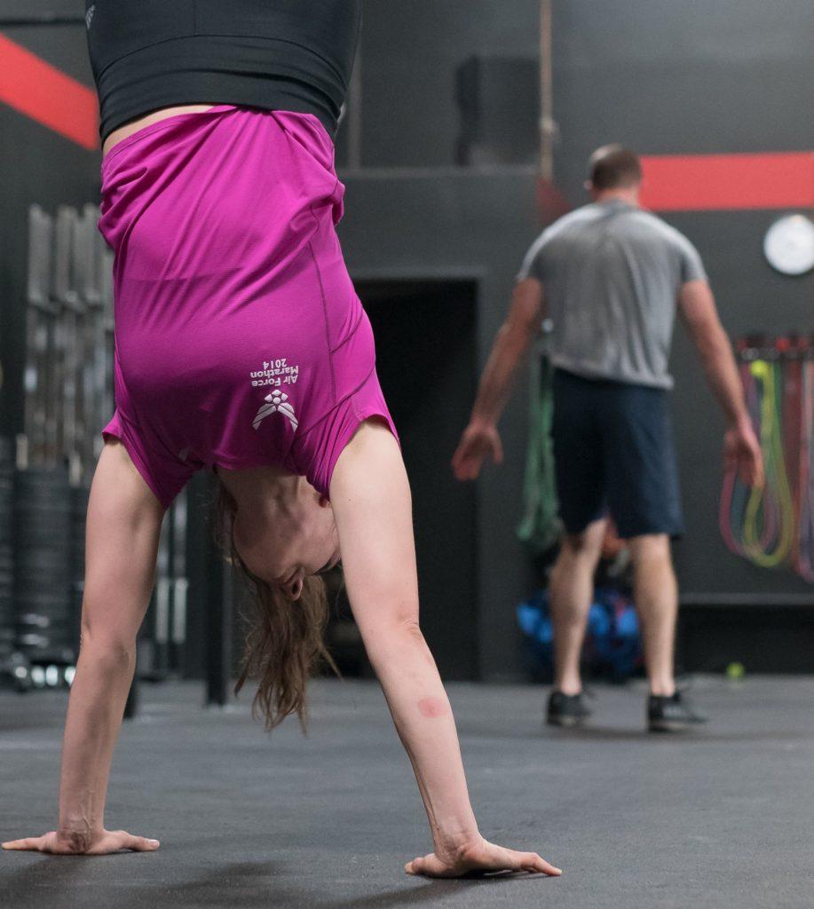 Amanda Juhl at CrossFit Roseville