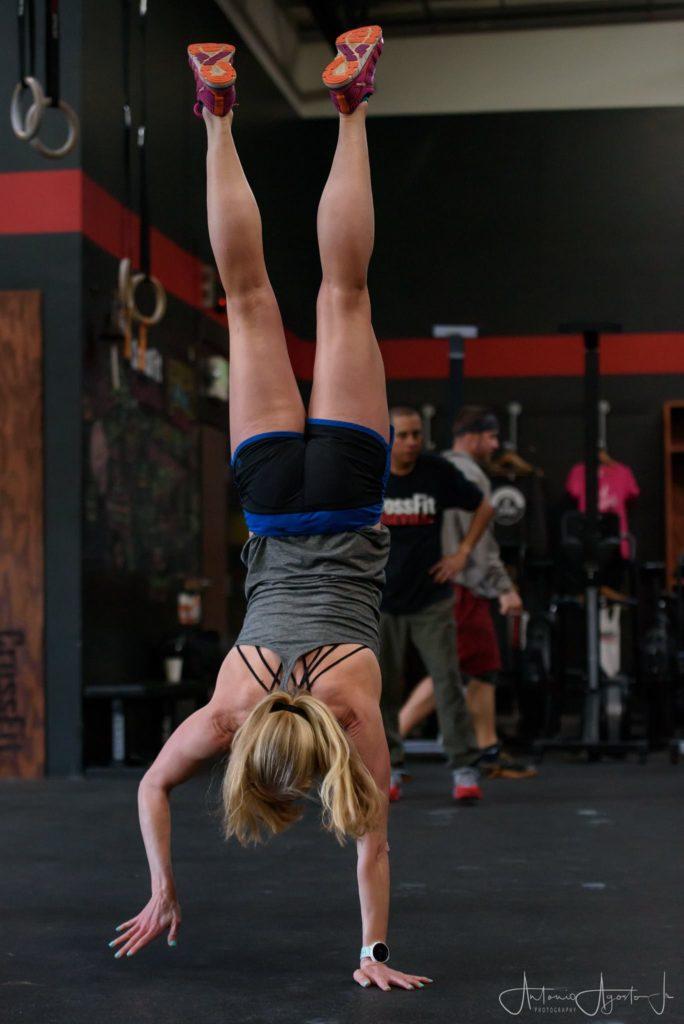 Stephanie Artis at CrossFit Roseville