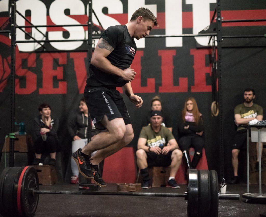 Kelton McDonald at CrossFit Roseville